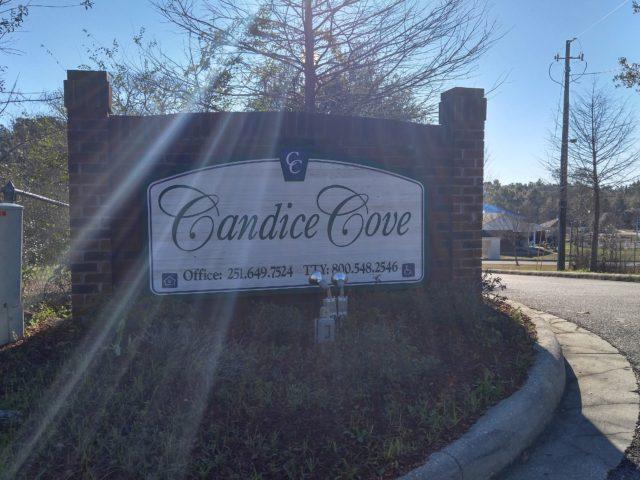 Candice Cove, Semmes, AL sign