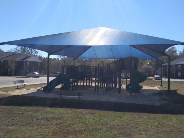 Candice Cove, Semmes, AL covered playground