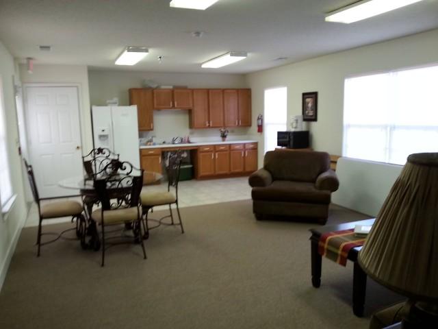 Cloverset Place, Hazelhurst, Georgia, community room