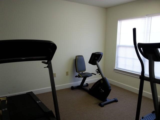 Cloverset Place, Hazelhurst, Georgia, exercise facility