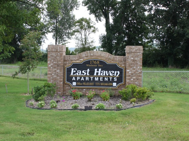 East Haven, Fayetteville, TN sign