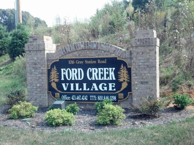 Ford Creek, Gray, TN sign