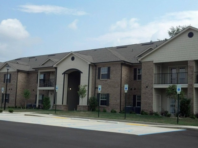 Ford Creek, Gray, TN apartment building front view