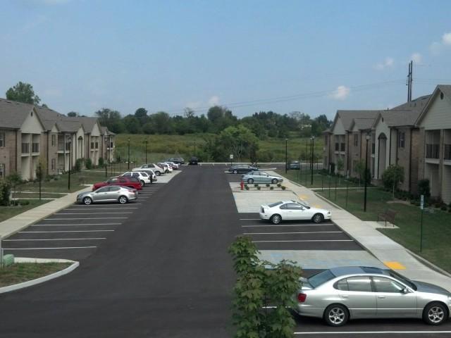 Ford Creek, Gray, TN parking lot