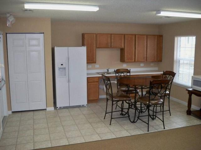 Fullerton Estates, Baton Rouge, LA community building kitchen