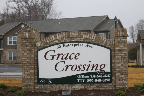 Grace Crossing, Paris, TN sign