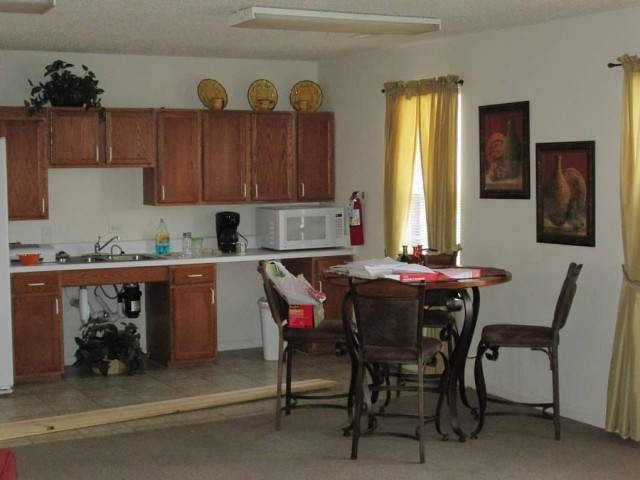 Kingsview, Kingsport, TN, community room Kitchen