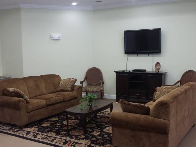 Legacy Senior Village, Eufaula, AL, community room