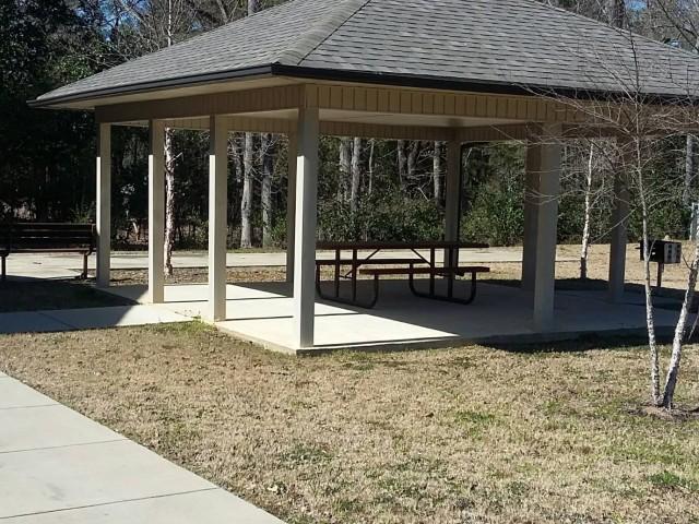 Legacy Senior Village, Eufaula, AL, pavilion