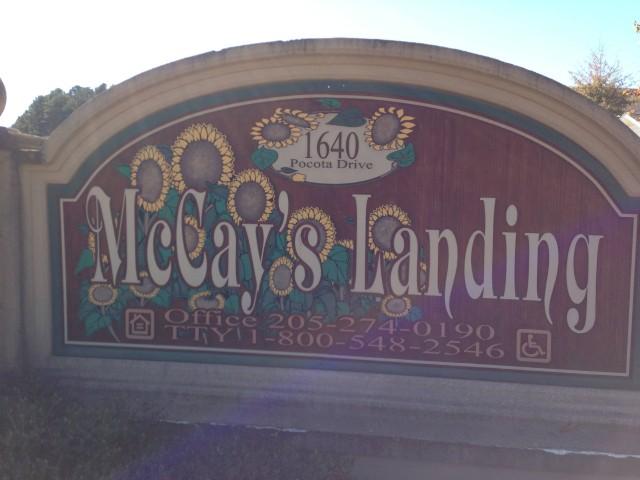 McCay Landing I, Oneonta, AL, sign