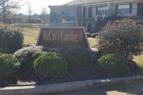 McCay's Landing II, Oneonta, AL, sign