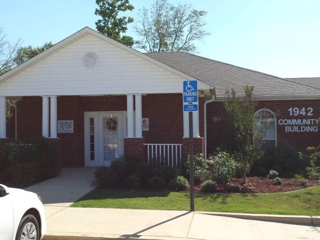 Magnolia Senior, Selma, AL, office and community building entrance