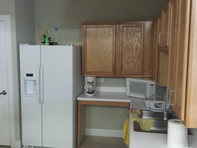Magnolia Senior, Selma, AL, community room kitchen