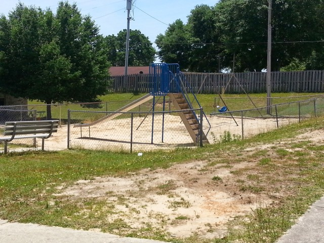 Megan Manor, Chatom, AL, playground