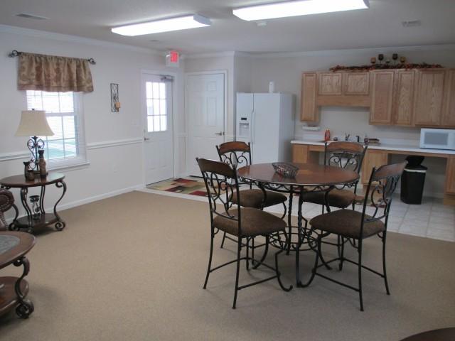 Mountain Hollow Apts, Elizabethton, TN, community room