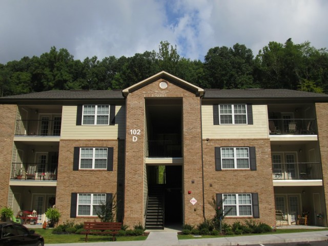 Apartment Building Front mountain hollow apartments | olympia property management