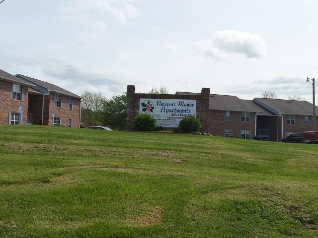 Newport Manor, Newport, TN, sign 2