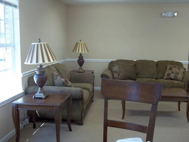 Richardson Place I, Marksville, LA, community room