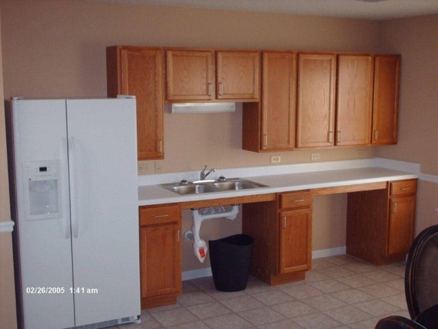 River West, Port Allen, Louisiana, community building kitchen
