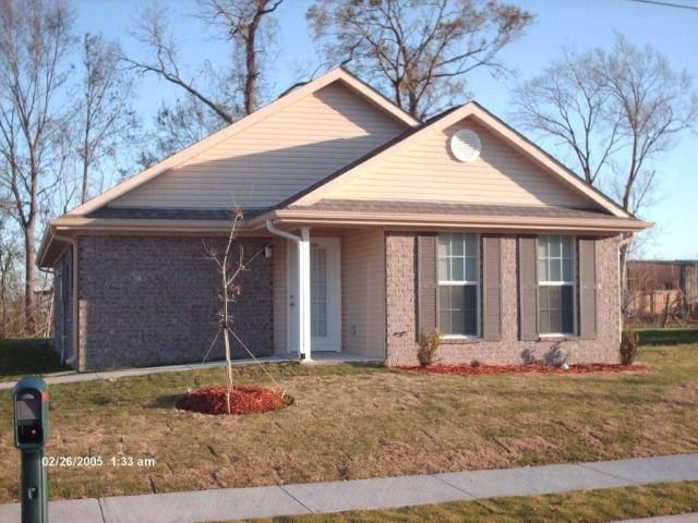 River West, Port Allen, Louisiana, house entrance
