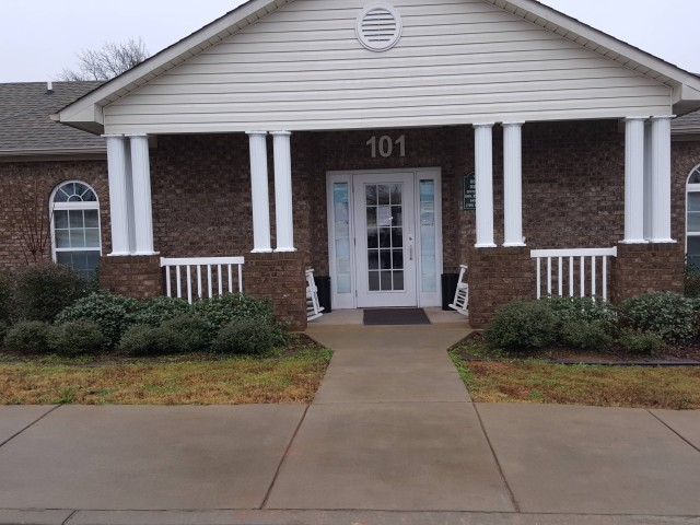 Ruthie Manor, Thomaston, GA, community building entrance