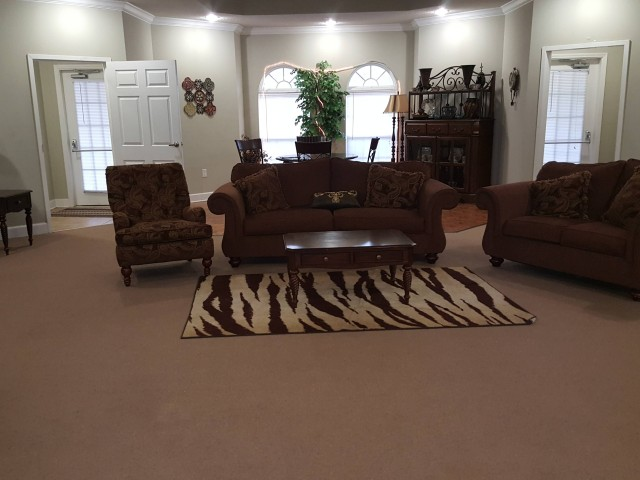 Ruthie Manor, Thomaston, GA, community building seating