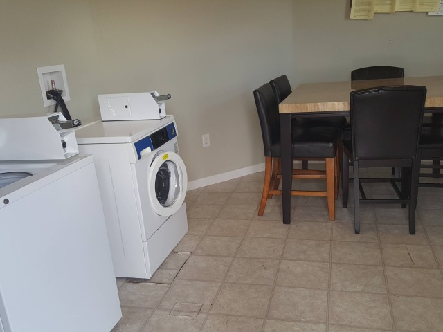 Ruthie Manor, Thomaston, GA, community building laundry facility
