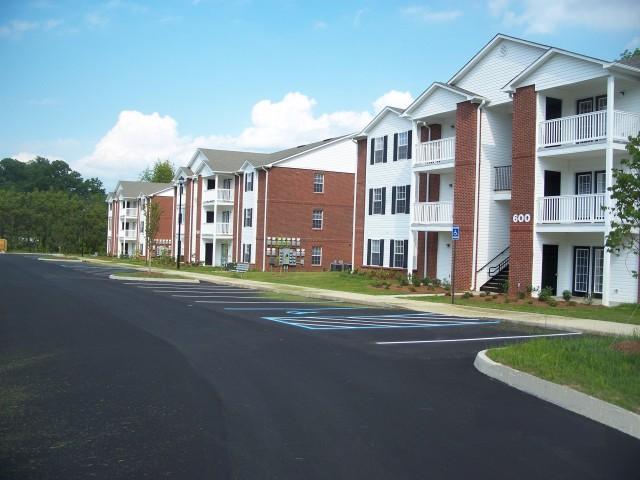 Sage Meadows, Briston, TN row of buildings