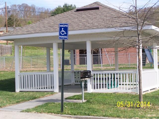 Sage Meadows, Briston, TN picnic pavillion
