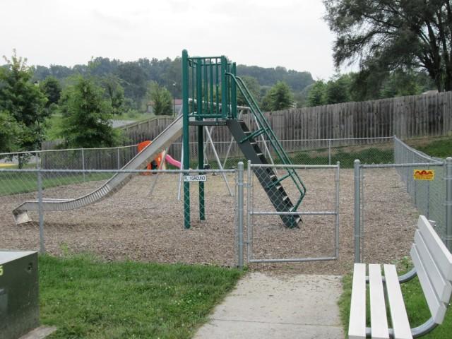 Sage Meadows, Briston, TN playground slide