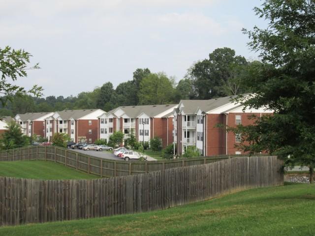 Sage Meadows, Briston, TN buildings and fence line
