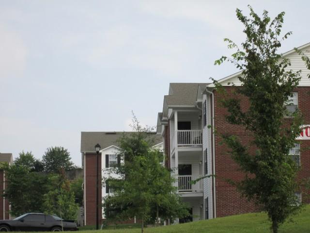 Sage Meadows, Briston, TN, building balconies
