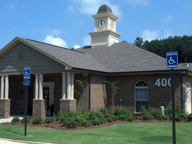 Savannah Garden, Boaz, AL, Community Building entrance