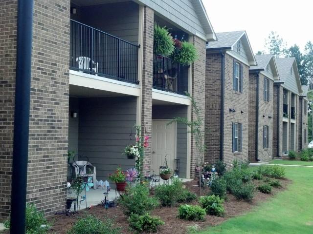 Savannah Garden, Boaz, AL, Building patios and balconies