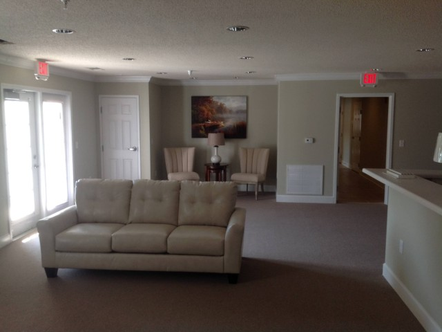 Woodland Village II, Lafayette, GA inside community room comfortable seating