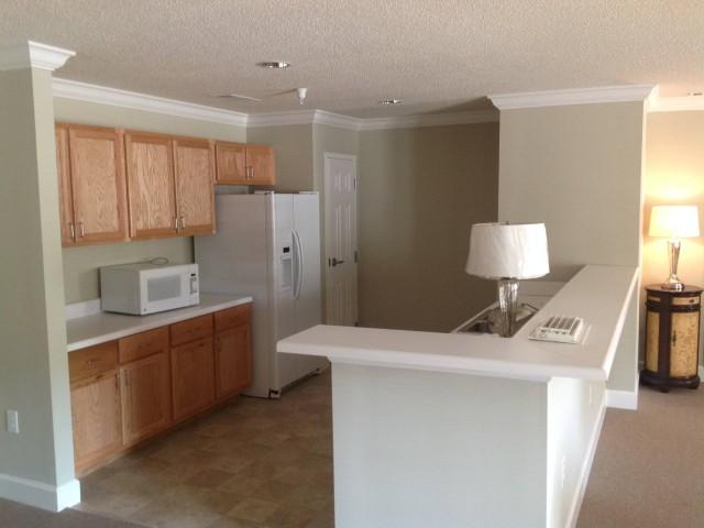 Woodland Village II, Lafayette, GA, community room kitchen