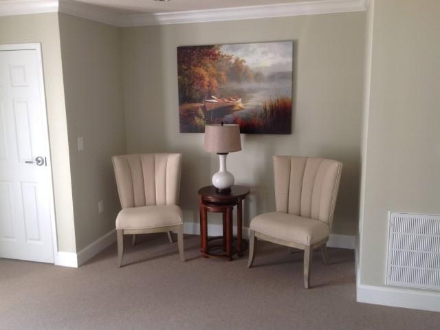 Woodland Village II, Lafayette, GA inside community room comfortable chairs