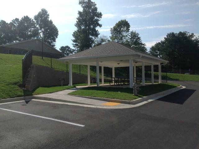 Woodland Village II, Lafayette, GA, gazebo