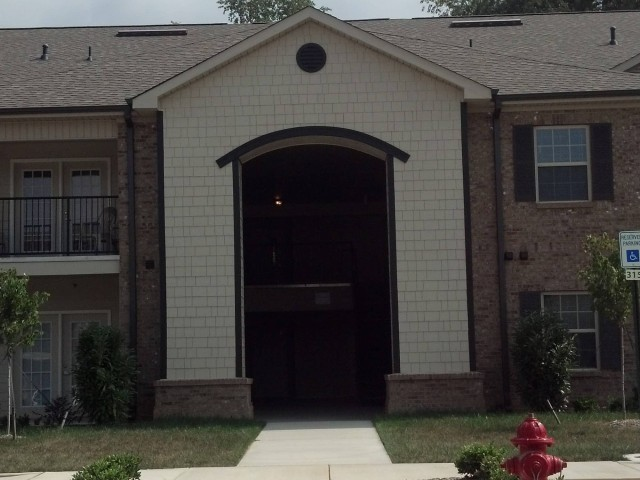Ford Creek, Gray, TN apartment building entrance