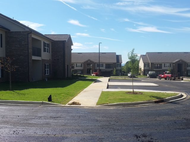 Morrisontown, TN Chloe Lane sidewalk and grounds