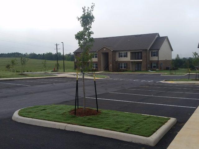 Morristown, TN Chloe Lane parking lot