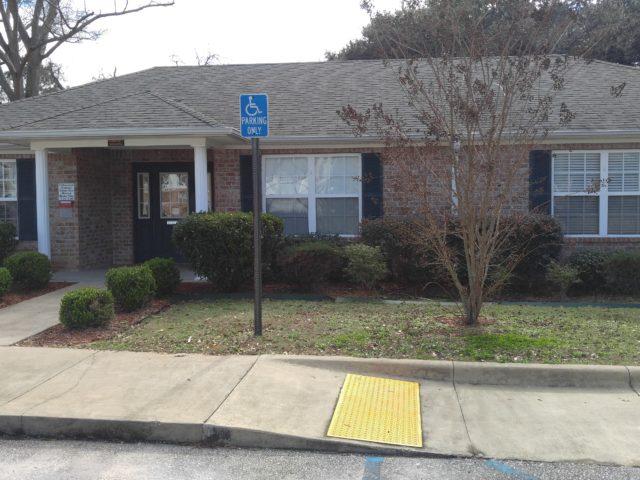 Cottonwood Estates, Jackson, AL community building and handicap access