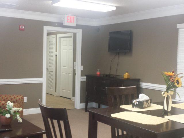 Palmetto Ridge, Lake City, SC, inside community room entrance