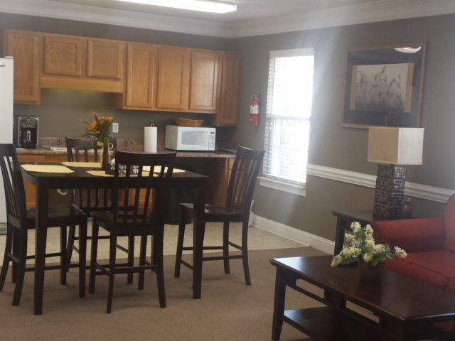 Palmetto Ridge,, Lake City, SC, inside community room table and chairs