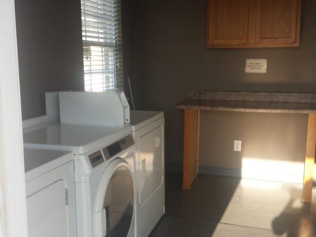 Palmetto Ridge, Lake City, SC, inside laundry room
