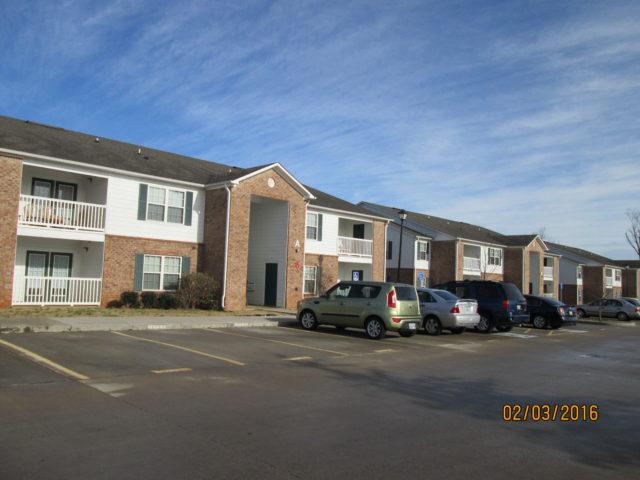 Palmetto Ridge, Lake City, SC, apartment building front