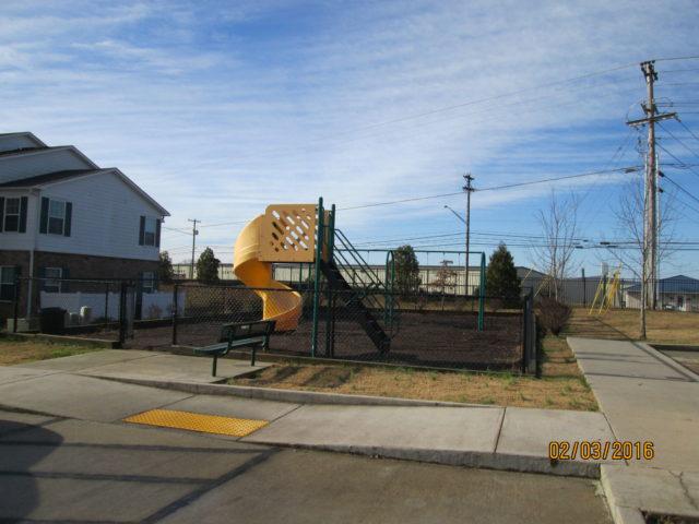 Stoneridge Estates playground, Sparta, TN