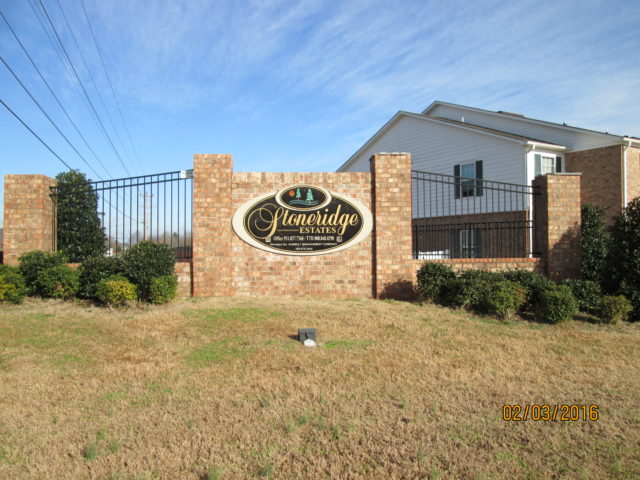 Stoneridge Estates, Sparta, TN sign