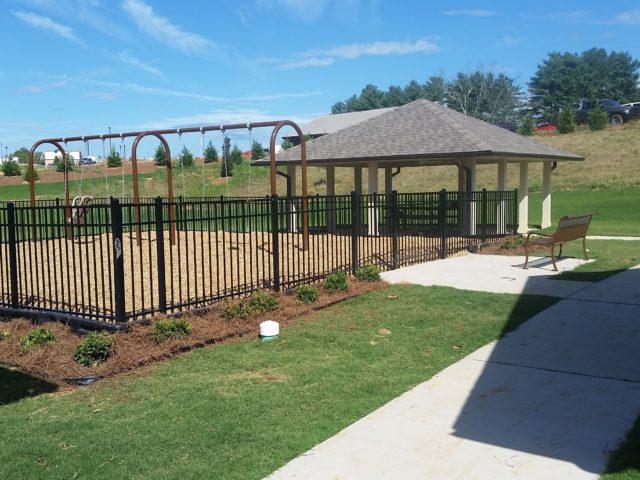 Morristown, TN, Chloe Lane playground and gazebo