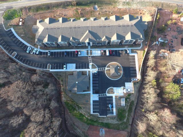 Commerce, GA Mason Manor aerial